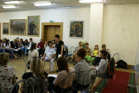 Fortbildung im Rahmen des 1. Eurasischen Kongresses zu Systemaufstellungen